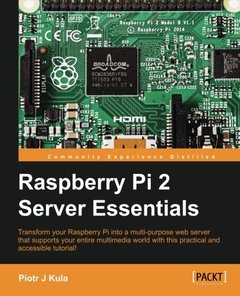 Raspberry Pi 2 Server Essentials-cover
