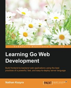Learning Go Web Development-cover