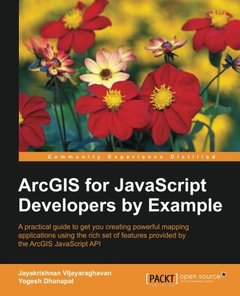 ArcGIS for JavaScript developers by Example-cover