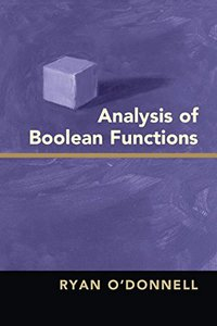 Analysis of Boolean Functions-cover
