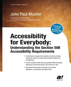 Accessibility for Everybody: Understanding the Section 508 Accessibility Requirements-cover