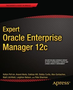 Expert Oracle Enterprise Manager 12c-cover