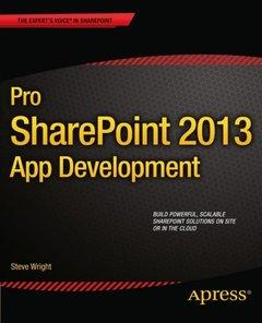Pro SharePoint 2013 App Development-cover