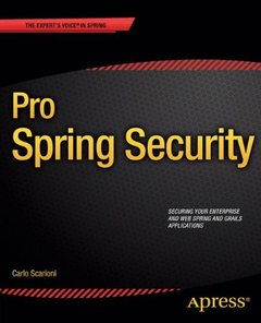 Pro Spring Security-cover