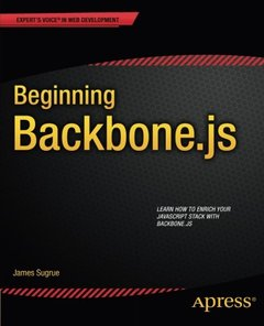 Beginning Backbone.js (Expert's Voice in Web Development)-cover