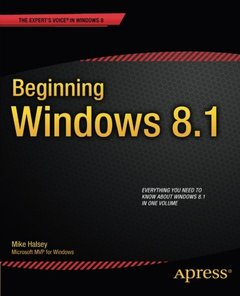 Beginning Windows 8.1 (Expert's Voice in Windows 8)-cover