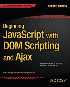 Beginning JavaScript with DOM Scripting and Ajax: Second Editon-cover