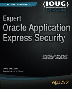Expert Oracle Application Express Security (Expert's Voice in Oracle)-cover