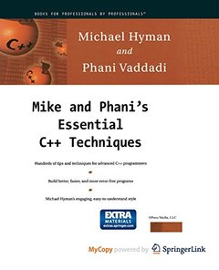 Mike and Phani's Essential C++ Techniques-cover