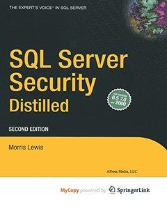 SQL Server Security Distilled-cover