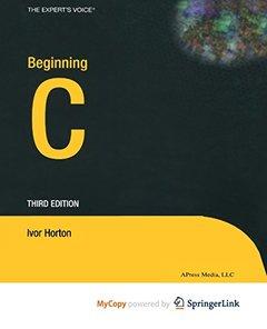 Beginning C-cover