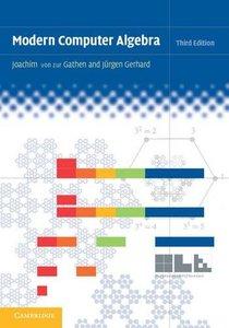 Modern Computer Algebra-cover