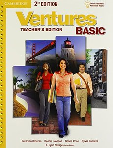 Ventures Basic Teacher's Edition with Assessment Audio CD/CD-ROM-cover
