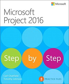 Microsoft Project 2016 Step by Step-cover