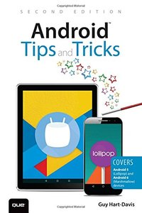Android Tips and Tricks: Covers Android 5 and Android 6 devices (2nd Edition)-cover