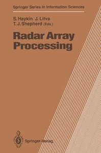 Radar Array Processing (Springer Series in Information Sciences)-cover