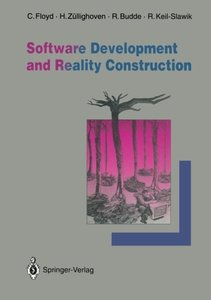 Software Development and Reality Construction-cover