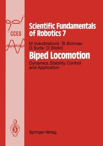 Biped Locomotion: Dynamics, Stability, Control and Application (Communications and Control Engineering)-cover