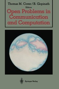 Open Problems in Communication and Computation-cover