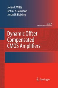 Dynamic Offset Compensated CMOS Amplifiers (Analog Circuits and Signal Processing)-cover