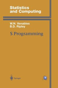 S Programming (Statistics and Computing)-cover