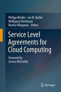 Service Level Agreements for Cloud Computing-cover