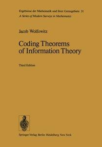 Coding Theorems of Information Theory (Ergebnisse der Mathematik und ihrer Grenzgebiete. 2. Folge)-cover