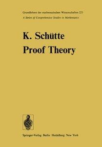 Proof Theory (Grundlehren der mathematischen Wissenschaften)-cover