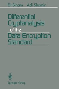 Differential Cryptanalysis of the Data Encryption Standard-cover