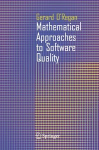 Mathematical Approaches to Software Quality-cover