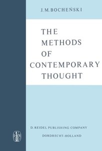 The Methods of Contemporary Thought: Translated from the German by Peter Caws-cover