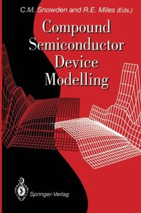 Compound Semiconductor Device Modelling-cover