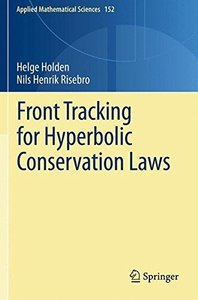 Front Tracking for Hyperbolic Conservation Laws (Applied Mathematical Sciences)-cover