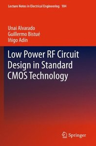 Low Power RF Circuit Design in Standard CMOS Technology (Lecture Notes in Electrical Engineering)-cover