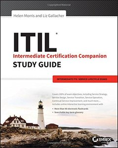 ITIL Intermediate Certification Companion Study Guide: Intermediate ITIL Service Lifecycle Exams-cover