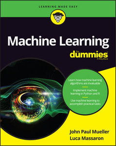 Machine Learning For Dummies-cover