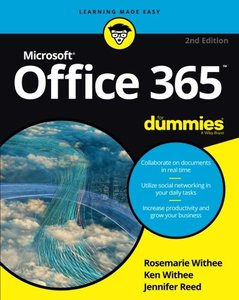 OFFICE 365 FOR DUMMIES, 2ND EDITION-cover