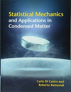 Statistical Mechanics and Applications in Condensed Matter (Hardcover)-cover
