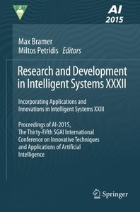 Research and Development in Intelligent Systems XXXII: Incorporating Applications and Innovations in Intelligent Systems XXIII-cover