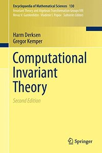Computational Invariant Theory (Encyclopaedia of Mathematical Sciences)-cover