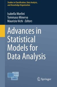 Advances in Statistical Models for Data Analysis (Studies in Classification, Data Analysis, and Knowledge Organization)-cover