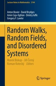 Random Walks, Random Fields, and Disordered Systems (Lecture Notes in Mathematics)-cover