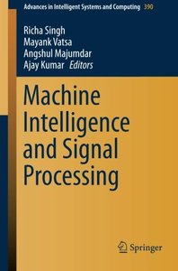 Machine Intelligence and Signal Processing (Advances in Intelligent Systems and Computing)-cover
