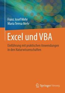 Excel und VBA: Einführung mit praktischen Anwendungen in den Naturwissenschaften (German Edition)-cover