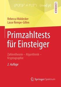 Primzahltests für Einsteiger: Zahlentheorie - Algorithmik - Kryptographie (German Edition)-cover