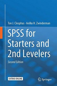 SPSS for Starters and 2nd Levelers-cover