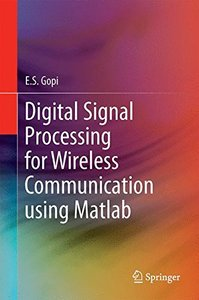 Digital Signal Processing for Wireless Communication using Matlab-cover