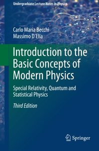 Introduction to the Basic Concepts of Modern Physics: Special Relativity, Quantum and Statistical Physics (Undergraduate Lecture Notes in Physics)-cover