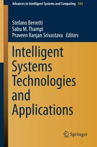 Intelligent Systems Technologies and Applications: Volume 1 (Advances in Intelligent Systems and Computing)-cover