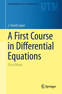 A First Course in Differential Equations (Undergraduate Texts in Mathematics)-cover